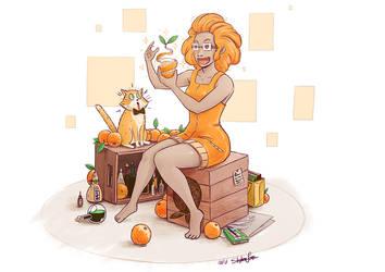 Orange Magic by EuropeanOsaka