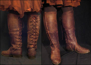 Arwen Boots by StellarReverie