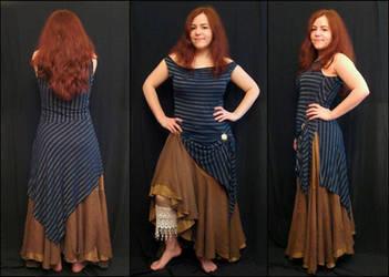 Pirate Dress by StellarReverie