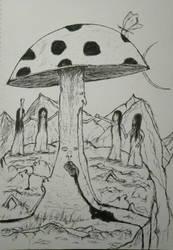Mushroom Cult by JPHBFolk