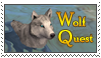 Wolf Quest Stamp by Kali-caracal