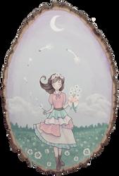 Dandelion Bouquet by KittyCarousel