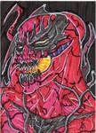 Carnage Sketch Card