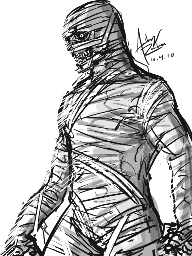 Uncategorized Mummy Drawings the living mummy by archonyto on deviantart archonyto