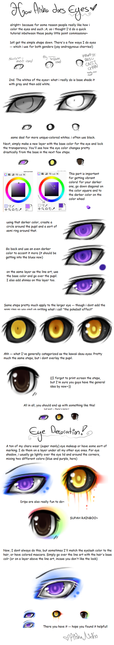 2010 Eye tutorial by AishaxNekox