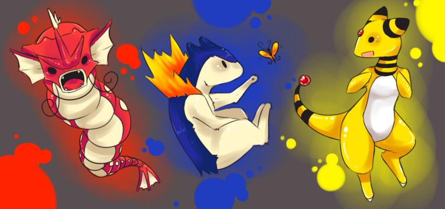 Team Primary Colors GoGoGo by AishaxNekox