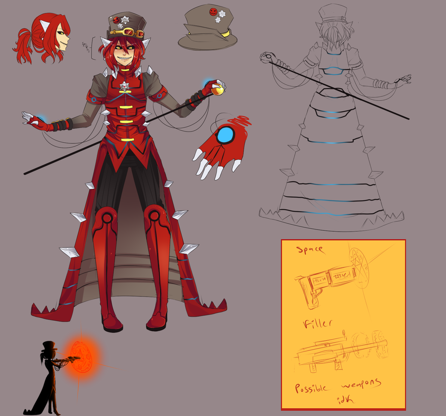 Groudon Gijinka Pokesteam: groudon alaz ref by