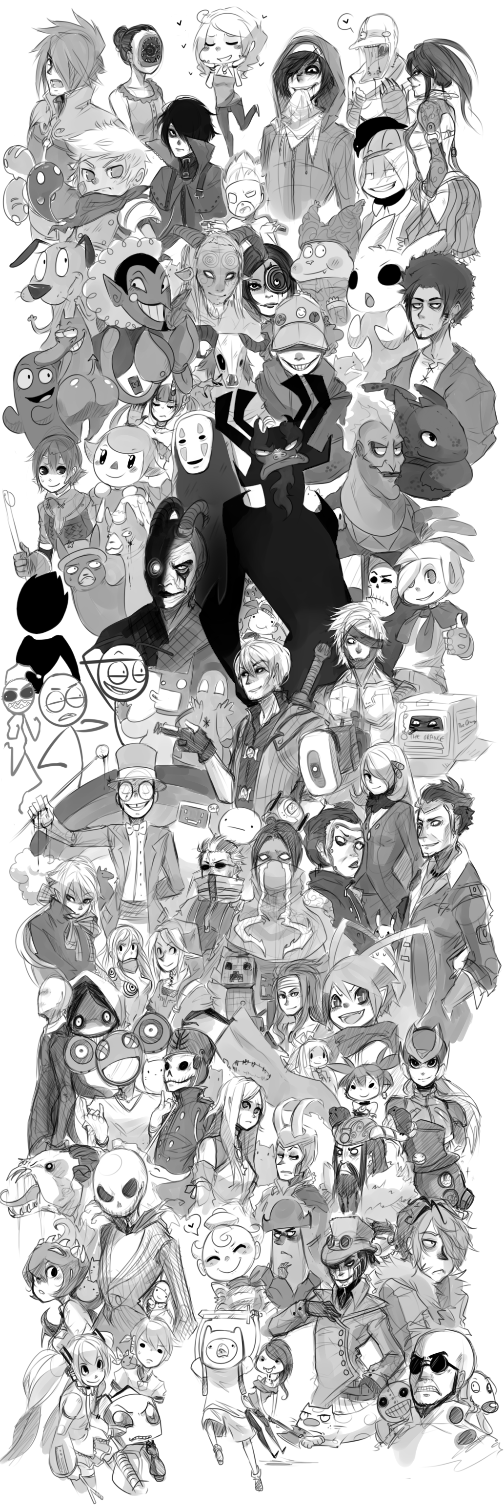 Wall of Fandom by AishaxNekox