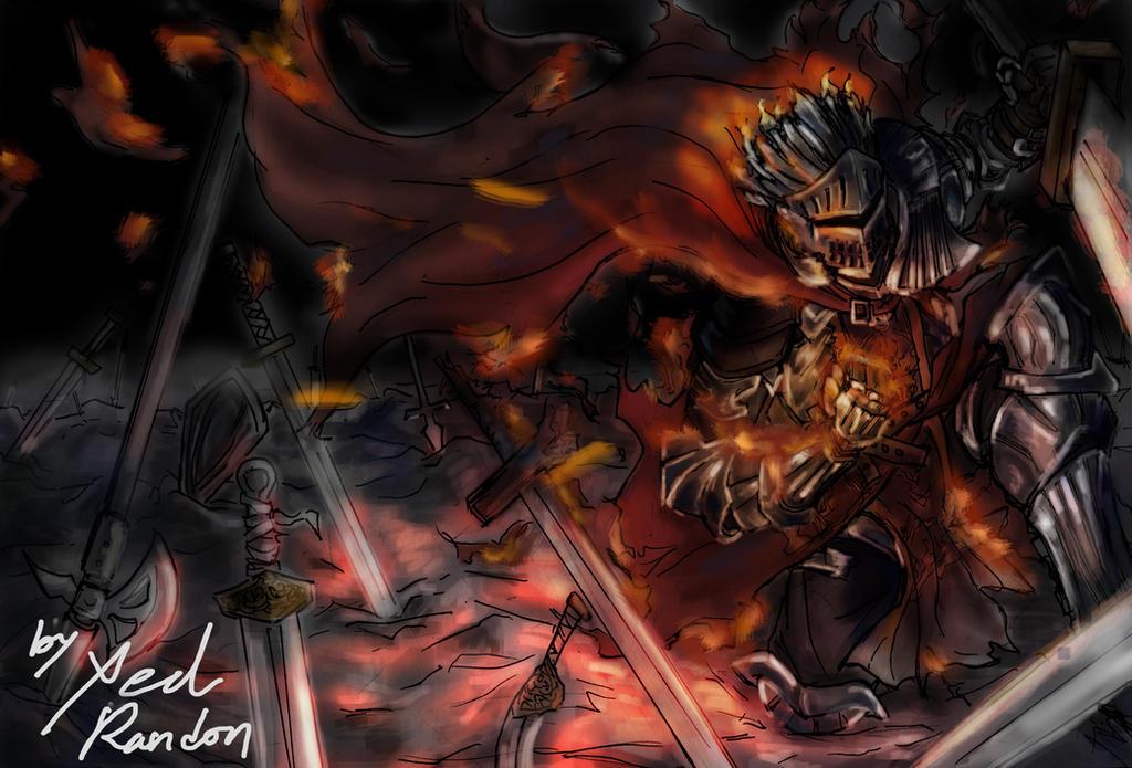 Soul Of Cinder Fan Art: DarkSouls3 By Xedrandon On DeviantArt