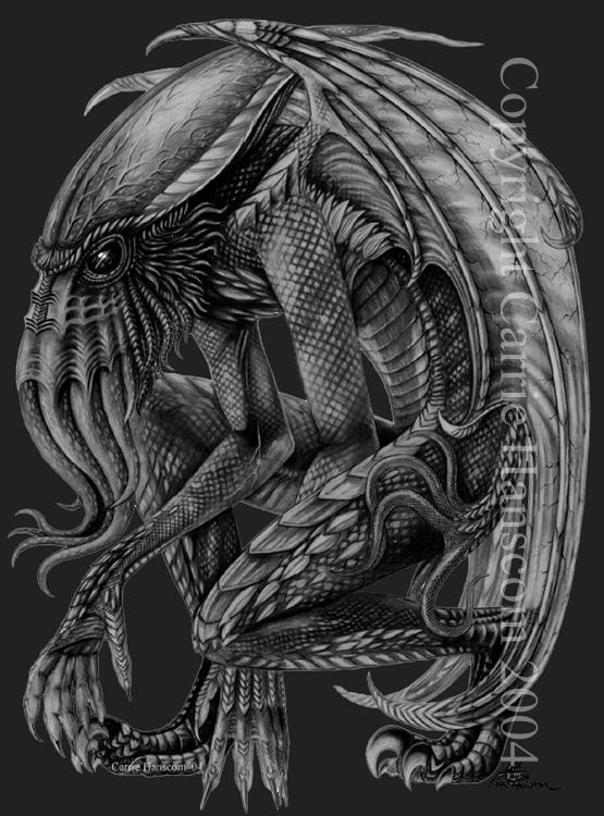 Cthulhu by Aerin-Kayne