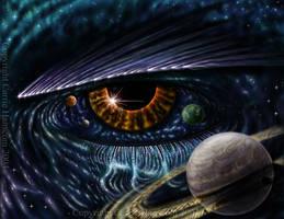 Eye of Horus by Aerin-Kayne