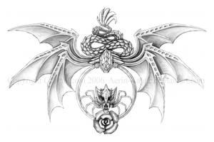 Winged Serpent by Aerin-Kayne