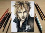 Cloud Strife- drawing