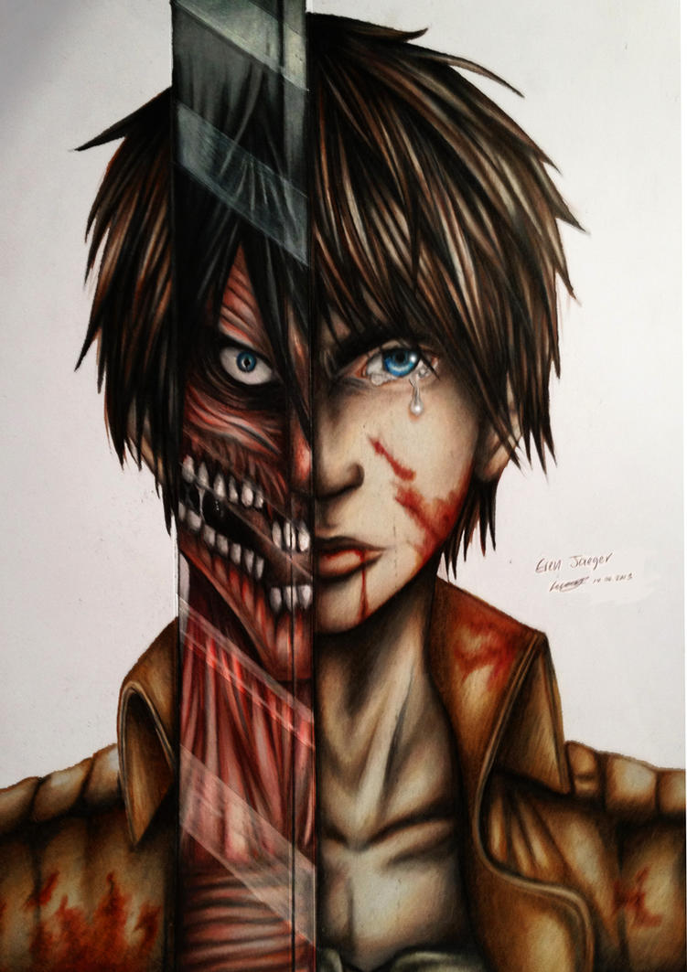Eren jaeger drawing - photo#40