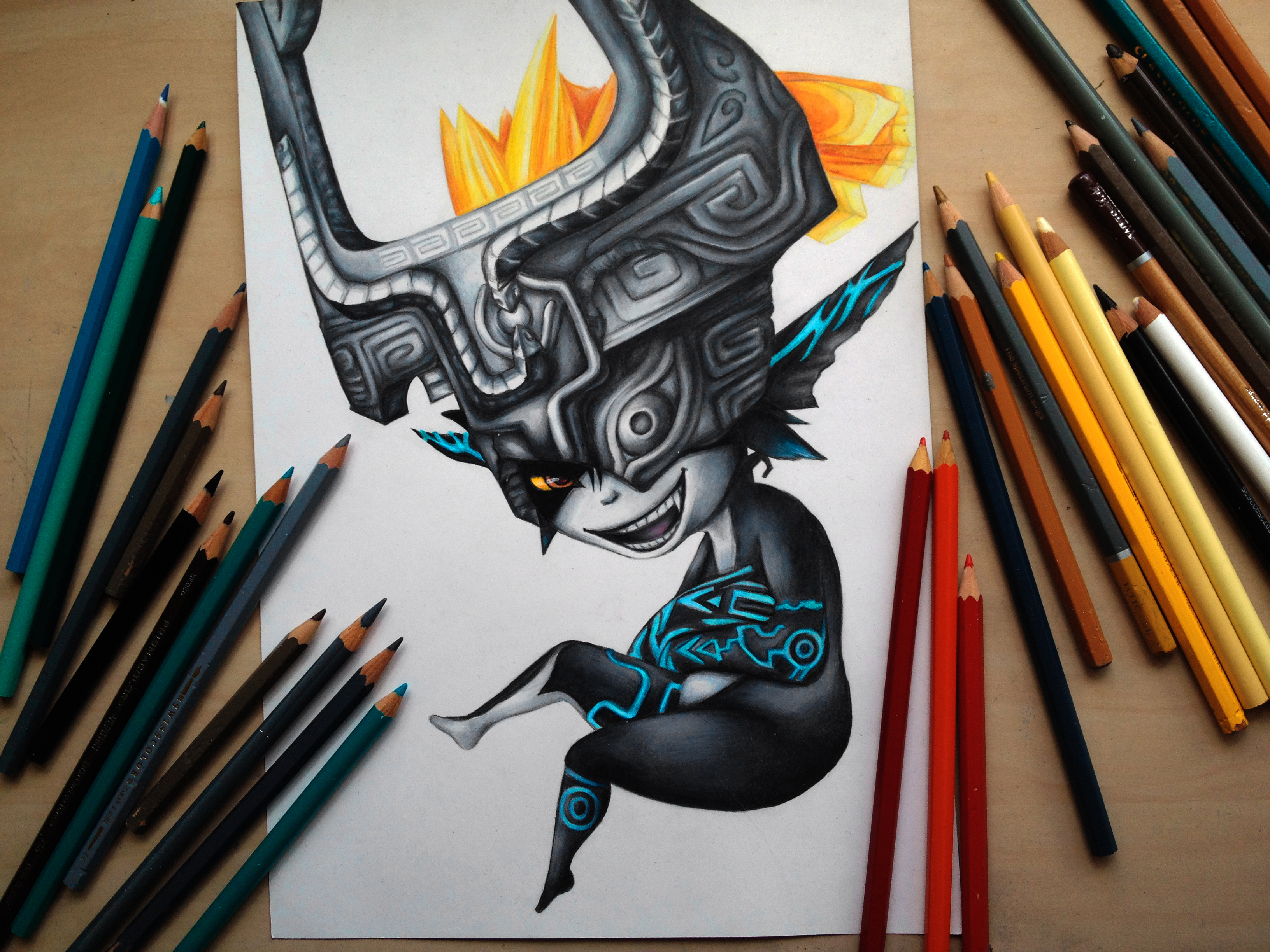 Midna from Legend of Zelda- Twilight Princess by Polaara