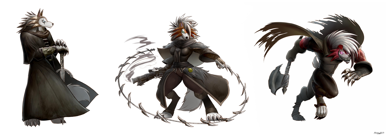 Lycanroc Hunters by SleepingEel