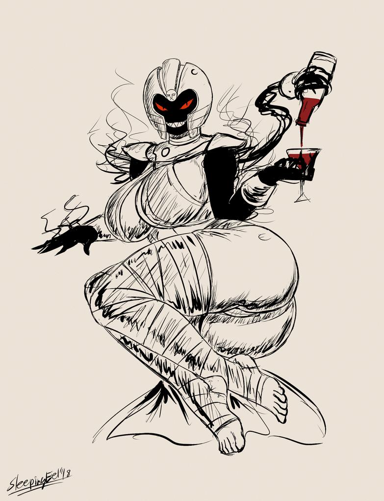Ghostober 3: Confagrigus Monarch by SleepingEel