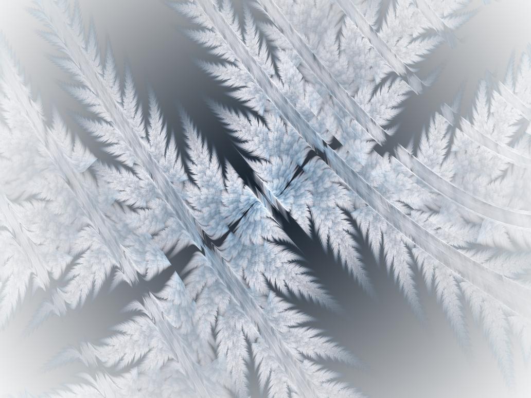 Frosty Fractal by Sya