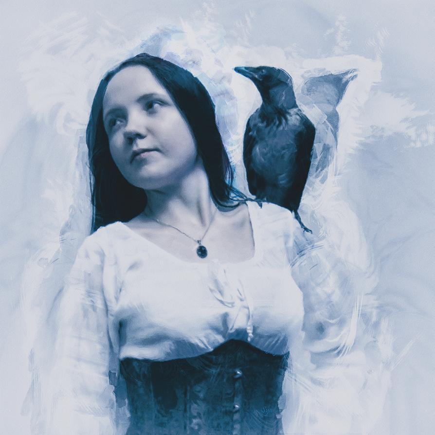 Bird Girl by Sya