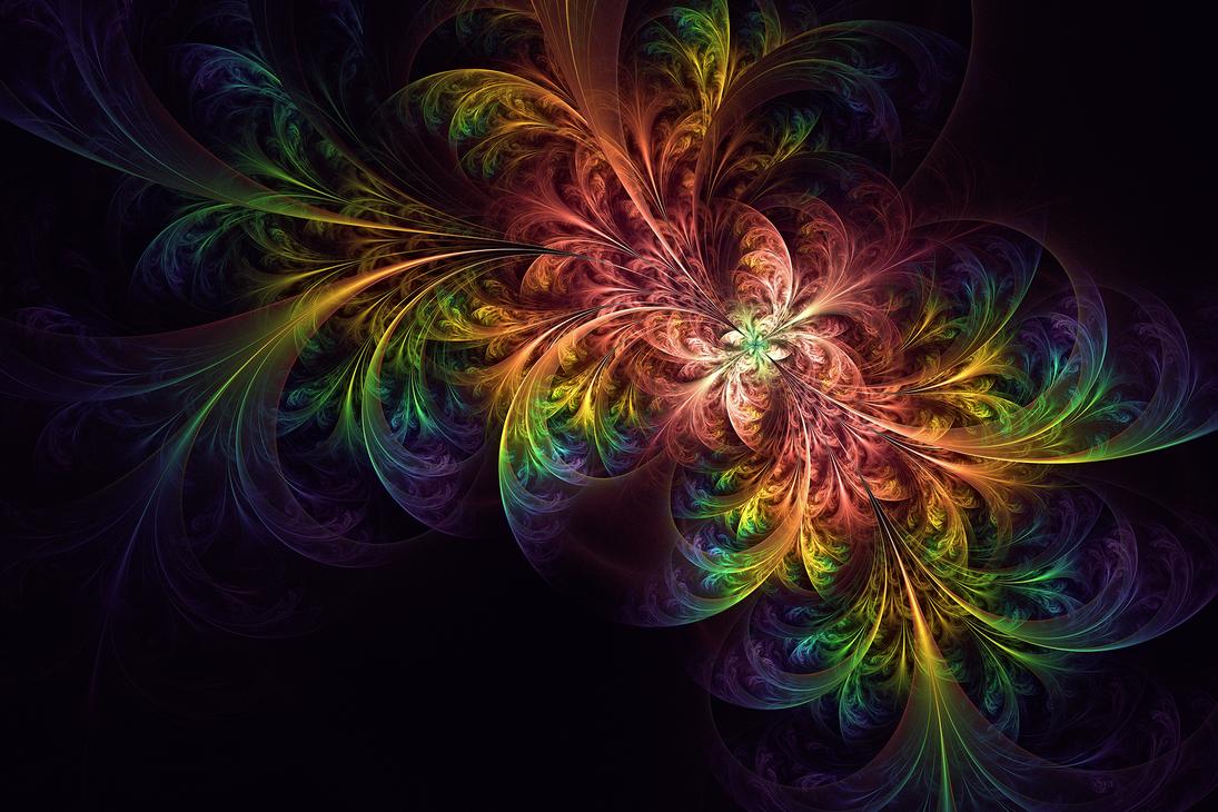 Rainbow Fleur by Sya