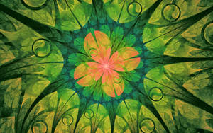 Whimsical Flower Wallpaper by Sya