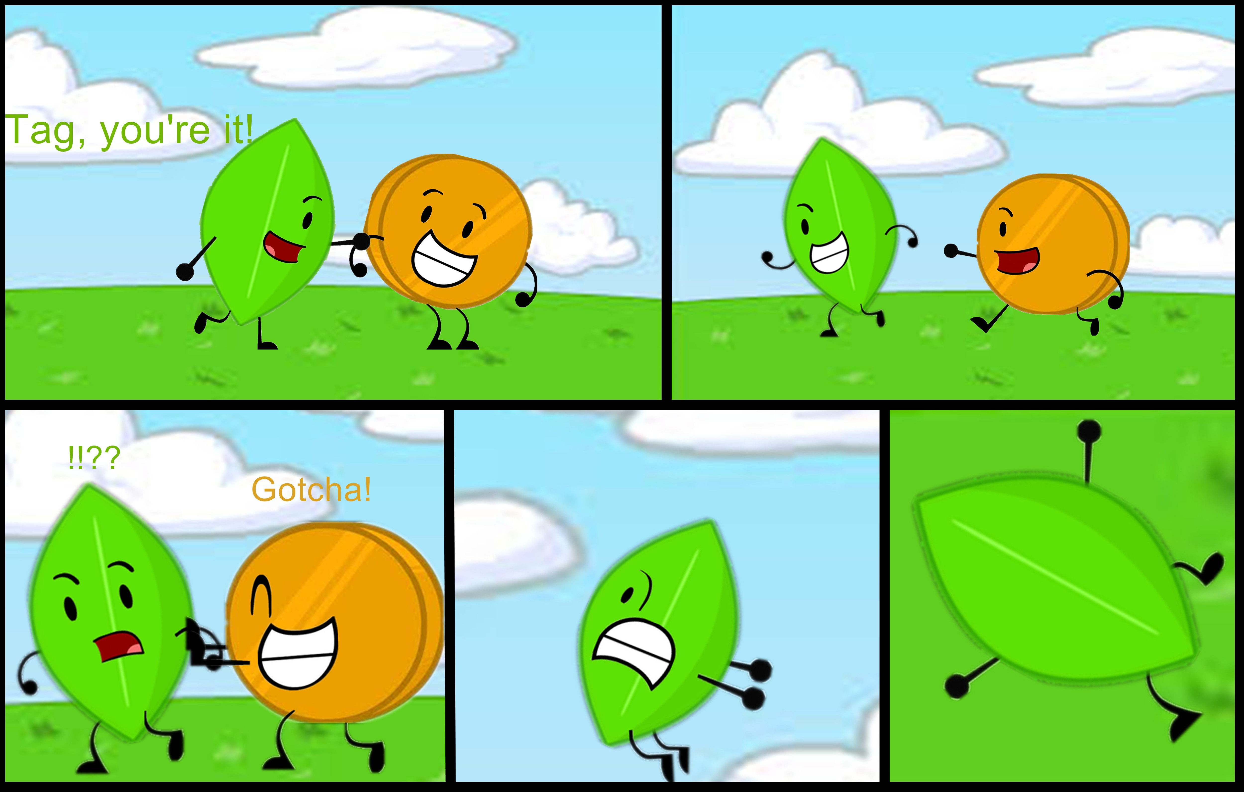 Battle For Dream Island Leafy: BFDI, BFDIA On Object