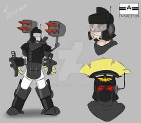 Lictorian Exoskeleton by Fasina