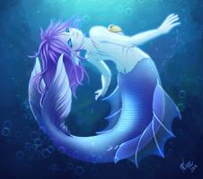 Playful Mermaid: Shiia by Nixuizu