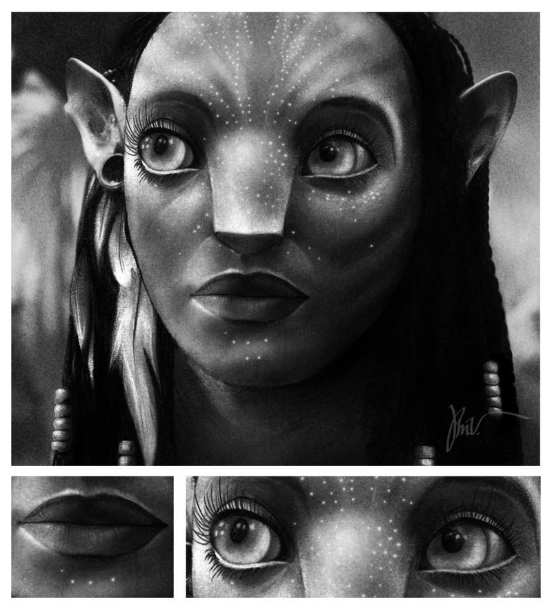 Neytiri Avatar by ~phil2908 on