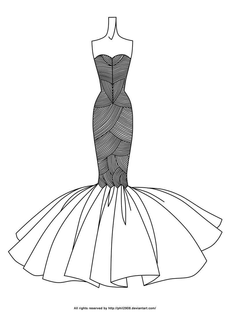 Fashion Lineart 18 By Anotherphilip On Deviantart