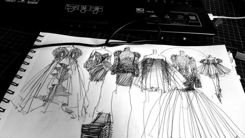 Fashion Sketches By Anotherphilip
