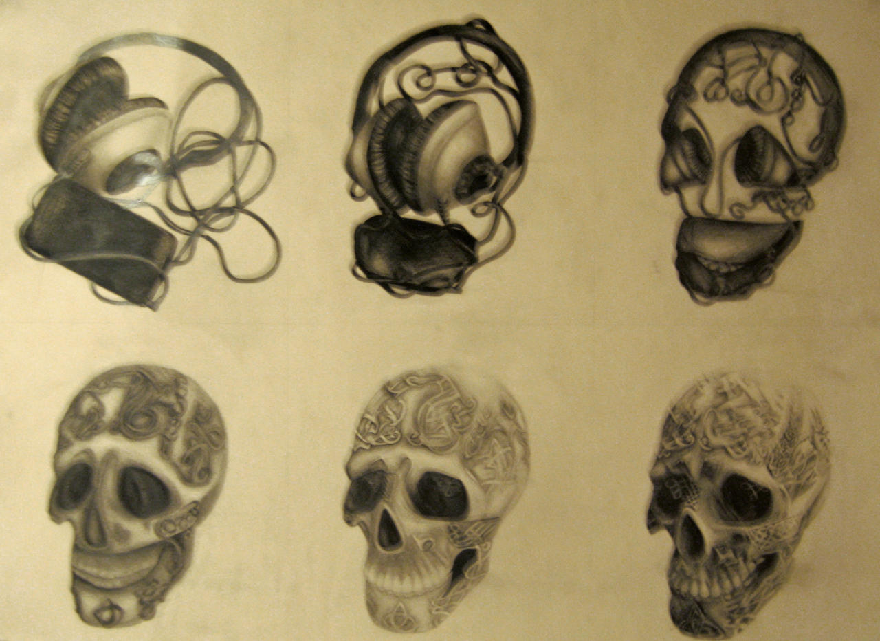 Metamorphosis Drawing by serpentyl