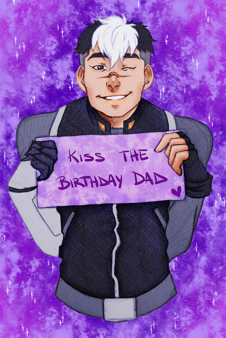 Happy Birthday Shiro! by ElissPendragon