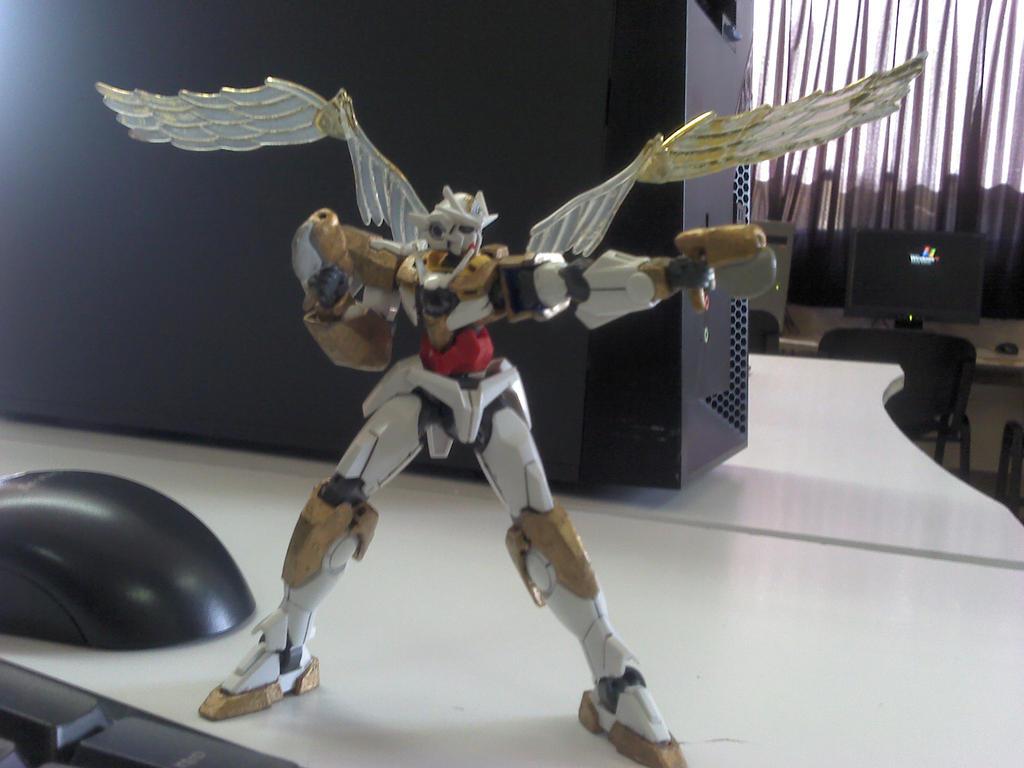 Archangel Gundam Finished Version by Reborns-Ang