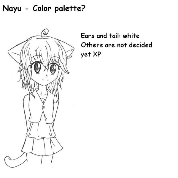 Nayu - color palette by RaikonKitsune