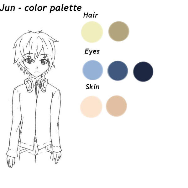 Jun - color palette by RaikonKitsune