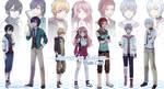 Reimei no Gakuen - Main Cast