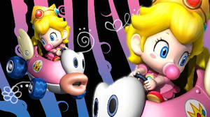 Baby Peach - Mario Kart Wii
