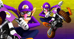 Waluigi Banner-Mario Kart Wii