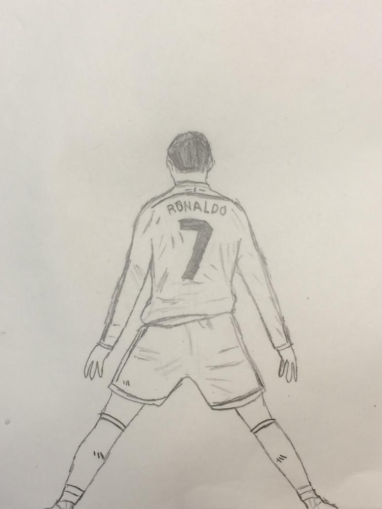 Line Drawing In C : Cristiano ronaldo line drawing pixshark images