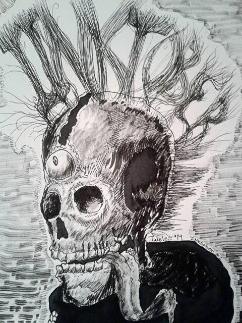 INKtober #1 by Tuleleii