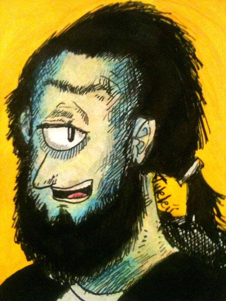Tuleleii's self-portrait by Tuleleii