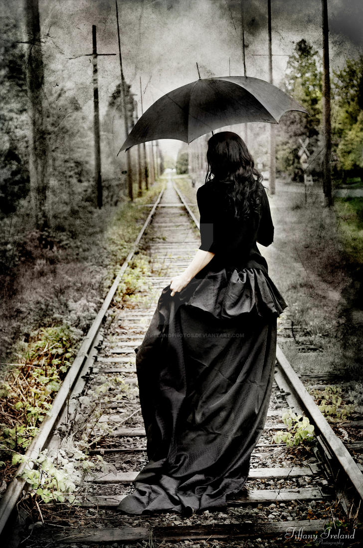 Gothic TrainTracks by TiffanyIrelandPhotos