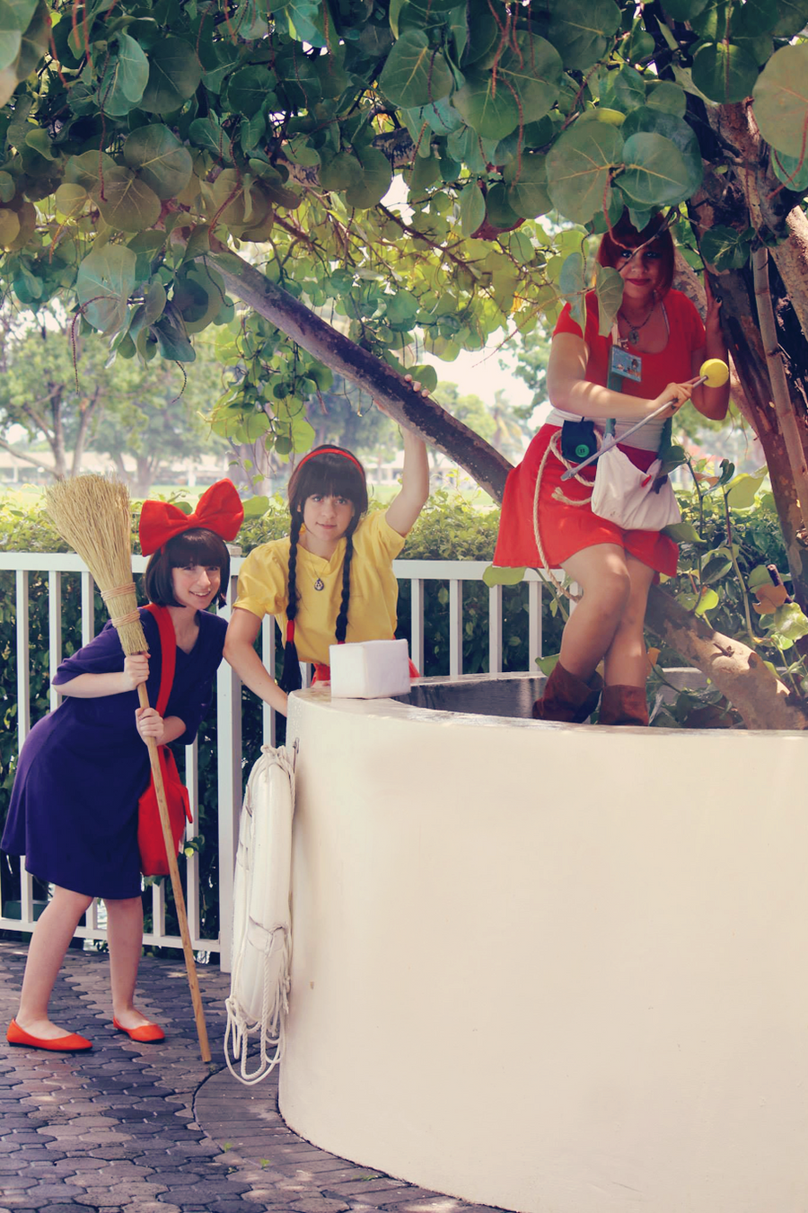 Studio Ghibli: Having Fun by SAYA-LOURA