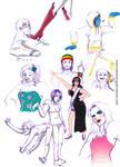 Sketch Dump.1 -Music themed-