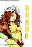 X-men postcard: Rogue