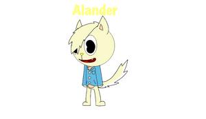 Alander the Dog (Pomeranian)
