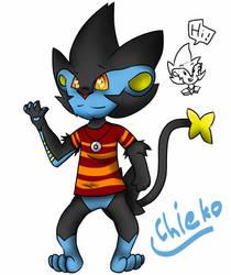 Chieko the Luxray by samart0098