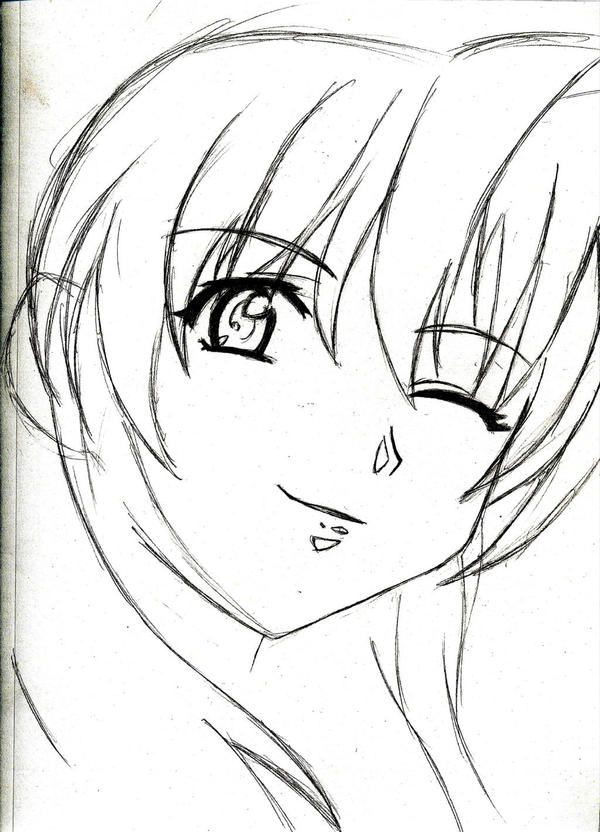 Anime Sketch By Aruetiise On DeviantArt
