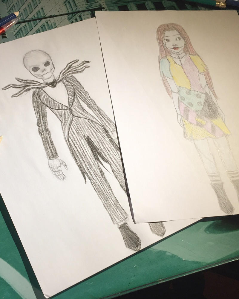 The nightmare before Christmas sketch by xBlack-Diamondx on DeviantArt